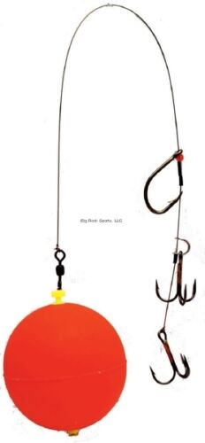 New Joe Bucher Outdoors Musky Sucker Float Rig Red 528-00905