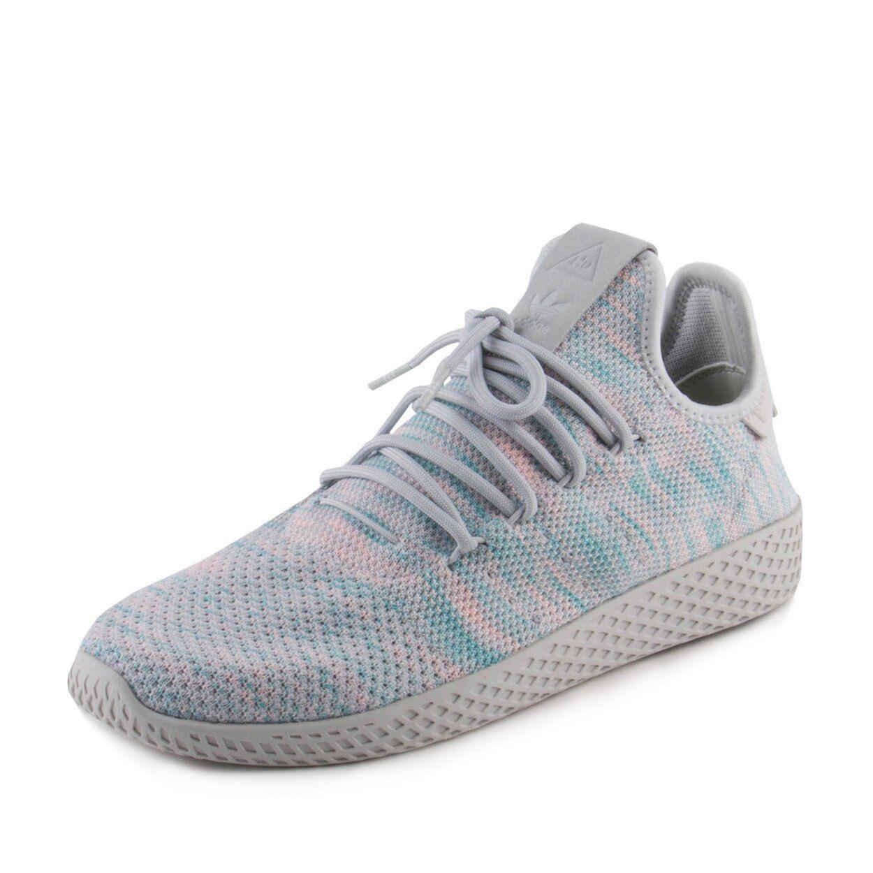 Adidas pharrell williams Uomo tennis hu corsa scarpe da tennis Uomo blu / rosa by2671 dimensioni 10,5 411191