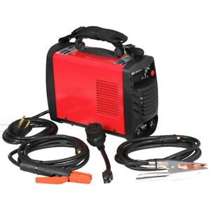 Lightweight Portable Mma Electric Welder 220v Inverter Arc Welding Machine Tool High Quality Business & Industrial