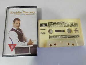 THE-FREDDIE-MERCURY-ALBUM-QUEEN-CASSETTE-TAPE-CINTA-EMI-SPAIN-EDITION-1992
