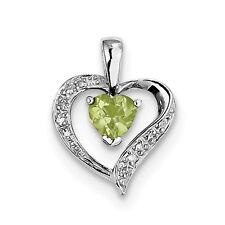 925 SS Rhodium Plated Diamond Cut Created Emerald Earring Jacket 14mm x 14mm