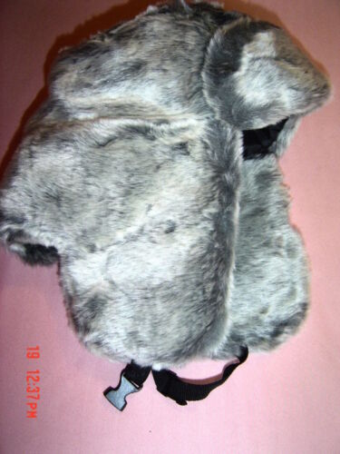 FULL FUR FAUX THICK FEEL FUR WARM THERMAL LINED Trapper Hat COSSACK STYLE 1 size
