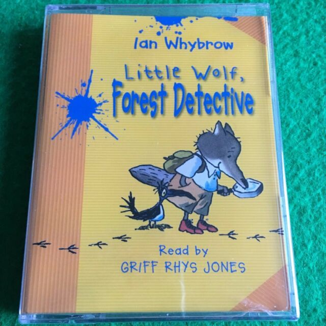 Little Wolf, Forest Detective by Ian Whybrow: NEW Children's Audiobook Cassette
