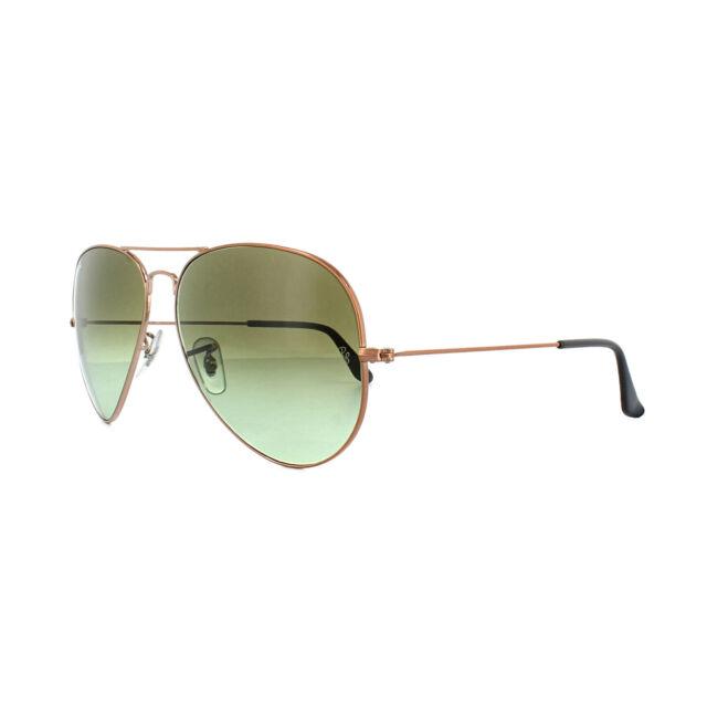 Ray-Ban Aviator Large Metal II Men\'s Gradient Sunglasses with Bronze ...