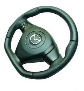 Image Is Loading Steering Wheel Mazda Rx8 New Leather Sport Modified