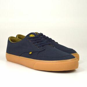 Element-Topaz-C3-Sneaker-Navy-Gum-Dunkelblau-Skateschuhe-Canvas-Neu