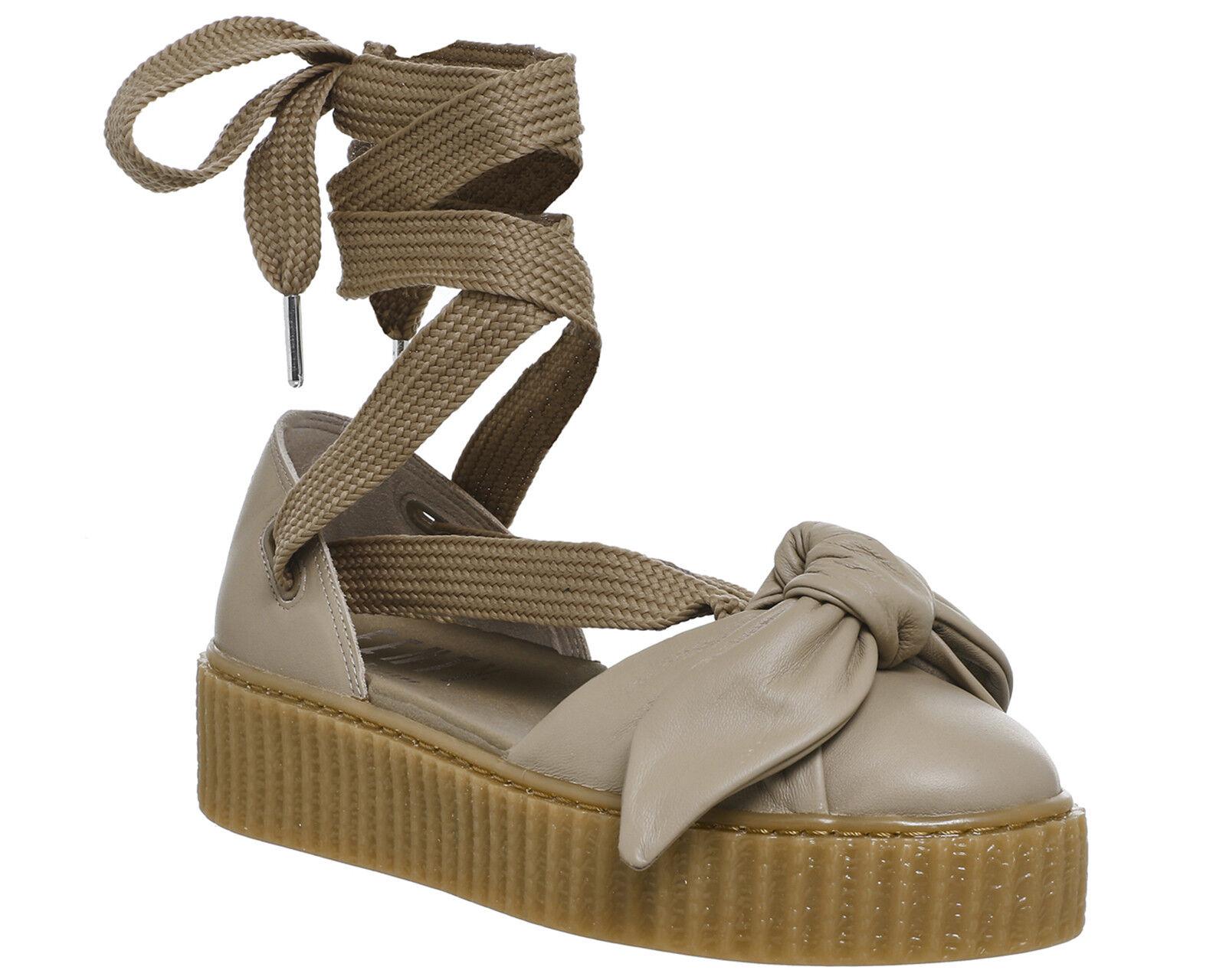 Womens Puma Creeper Ballet Lace Natural Fenty Sandals