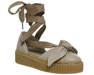 Image is loading Womens-Puma-Creeper-Ballet-Lace-Natural-Fenty-Sandals 013dcdf38