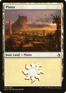 2x-PIANURA-256-PLAINS-Magic-AKH-Mint