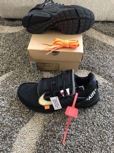 The 10 Nike Air Presto Off-white Black
