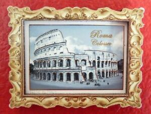 Collectible-3D-Resin-2-039-039-Fridge-Magnet-Roma-Colosseo