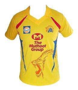0fb0c97e IPL Chennai Super Kings 2019 Jersey / Shirt, T20, Cricket India CSK ...