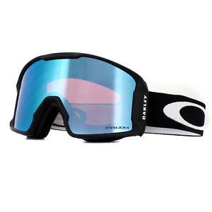 84424b34a95 Oakley Ski Goggles Line Miner XM OO7093-03 Matte Black Prizm Torch ...