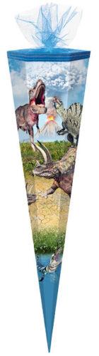 """Schultüte eckig 85cm /""""Dinotopia/"""" Zuckertüte"""