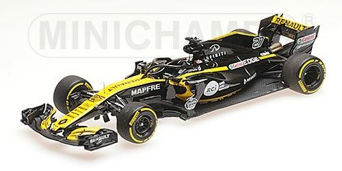 Renault Sport F1 Team Nico  Hulkenberg Showvoiture 2018 MINICHAMPS 1 43 417189027  populaire