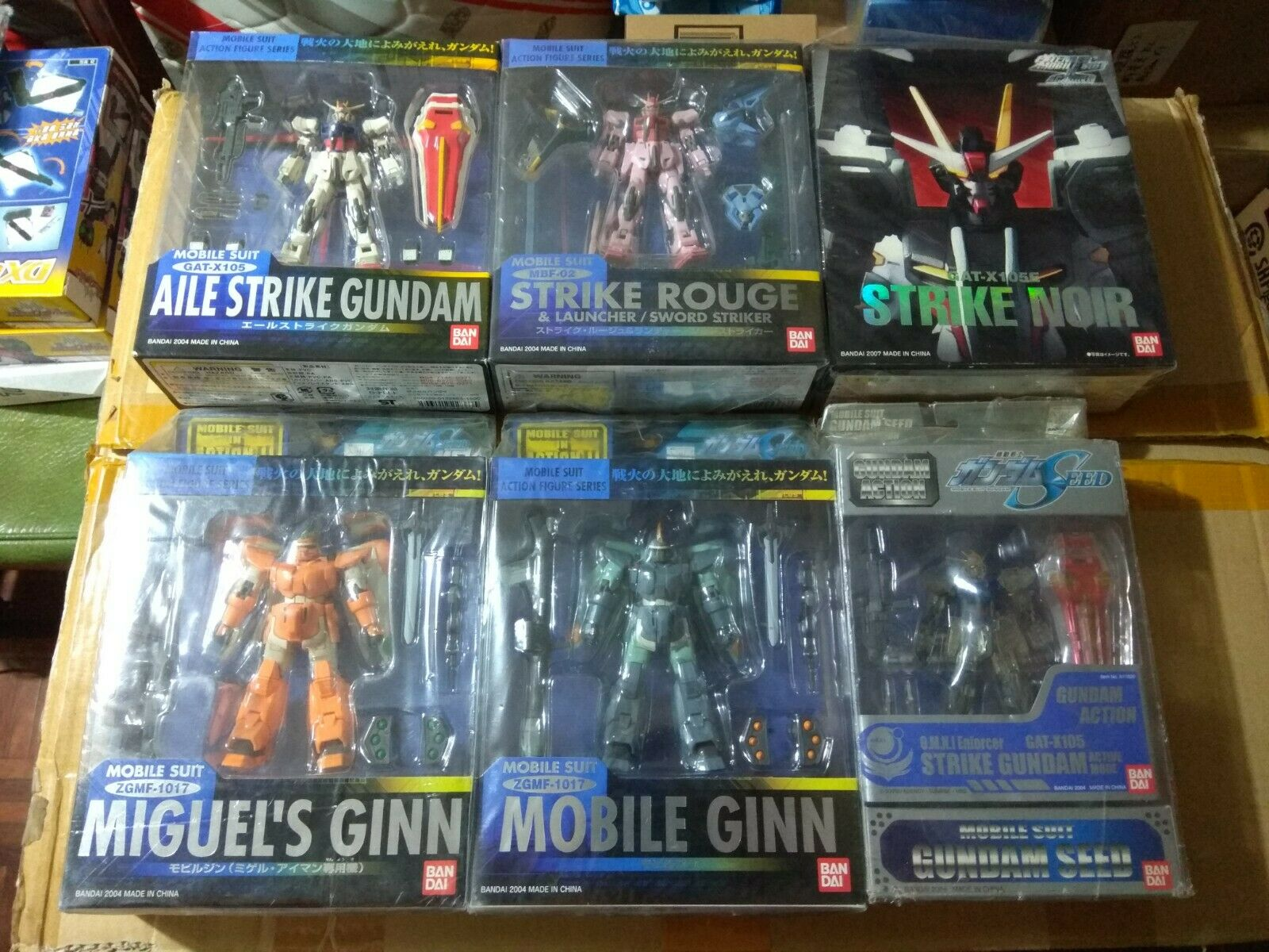 MSIA Aile Strike Rouge Mobile Miguel Ginn limite couleur Extended Noir seed Gundam