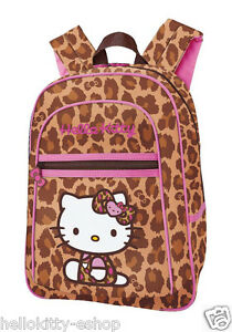 a58ab00f2eff NEW AUTHENTIC SANRIO HELLO KITTY SCHOOL BOOK BAG BACKPACK PURSE red ...