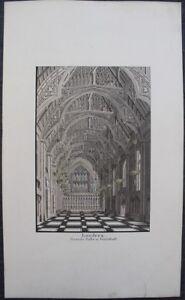 """LONDRES Guildhall Grande & Fine aquarelle originale 1899 signée E. GEOFFROY - France - Commentaires du vendeur : """"Voir la description dans la fiche"""" - France"""