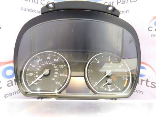 BMW 1 Série E81 E82 E87 E88 Diesel INSTRUMENT CLUSTER SPEEDO CLOCKS 9220954