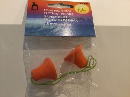 Protectores de doble punta de la Aguja-esencial para Calcetín Knitters tamaño 4.5-6mm