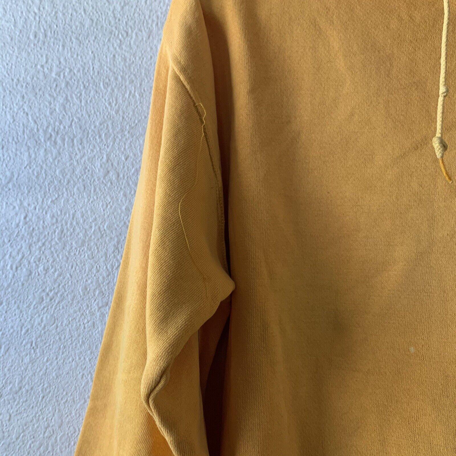 Vintage 70s Hoodie Sweatshirt Junior Olympics Rus… - image 6
