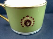 """LENOX  COLIN COWIE """"AU COURANT OLIVE"""" CUP NO SAUCER NEW NEVER USED"""