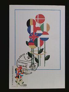 Marque Populaire Italie Mk 1978 Jour De La Marque Drapeaux Maximum Carte Carte Maximum Card Mc C8249-afficher Le Titre D'origine