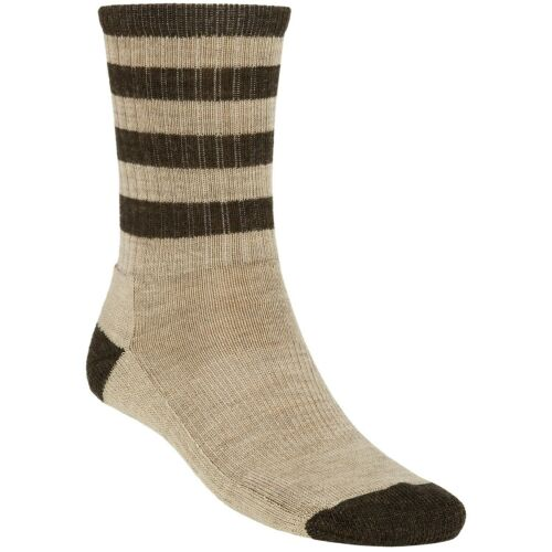 New SmartWool Men/'s Hiking Striped Light Cushion Hike Crew Merino Wool Socks XL