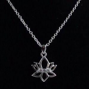 Pendant Yoga Om Mantra Jewelry Necklace Symbol W Crystals Namaste