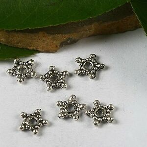 80pcs-tibetan-silver-color-2sided-8mm-star-shaped-design-spacer-beads-H3063