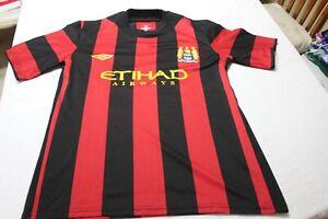 Camiseta-Futbol-MANCHESTER-CITY-2011-12-Away-034-M-034-size-logo-UMBRO-16-KUN-AGUERO