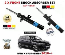 FOR BMW X3 F25 SDRIVE XDRIVE 2010-- NEW 2 X FRONT SHOCK ABSORBER SHOCKER SET