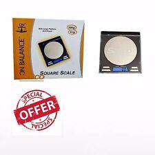 ON BALANCE SQUARE CD DIGITAL POCKET MINI SCALES - 500g x 0.1g