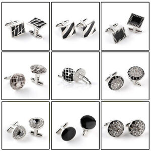 Details about Mens Cufflinks Character high-end business Style Shirt Gifts  For Him Father Son