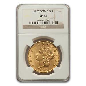 1873-20-Liberty-Gold-Double-Eagle-MS-61-NGC-Open-3-SKU-157327