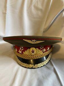 UdSSR-Schirmmuetze-Schirmmuetze-General