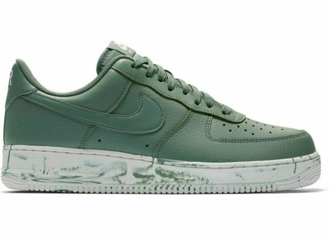 Nike Air Force 1 '07 LV8 Leather Men's (Size 11.5) Clay Green AJ9507 300 Marble
