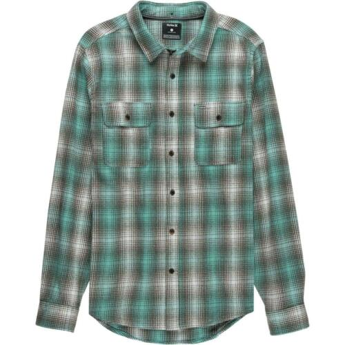 Hurley Men/'s Cortez Long Sleeve Flannel Shirt