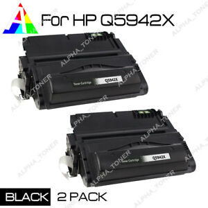 2x-New-Q5942X-42X-Toner-Cartridge-For-HP-LaserJet-4240n-4250n-4250tn-4350-4350tn