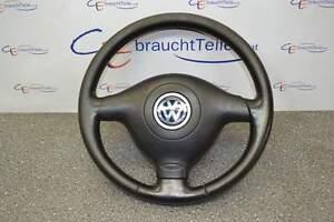 VW-Golf-4-1J-98-06-Lenkrad-Leder-Sportlenkrad-3-Speichen
