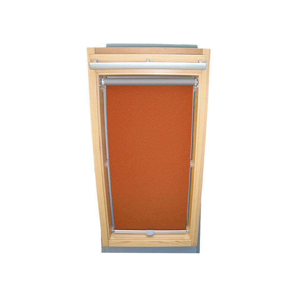 Rollo Abdunkelung THERMO für Roto Dachfenster WDF 310 319 320 329 - terracotta | Sehr gute Qualität  | Günstig