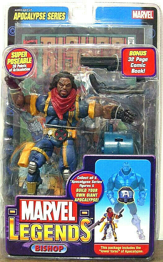 Marvel Legends BISHOP figura PVC 16cm