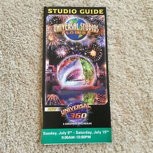 Vintage Universal Studios Florida 360 Cinematic Spectacular 2005 Mint