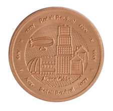 2018 1oz Copper Akron Round .999 - eBay Retail Revival Series