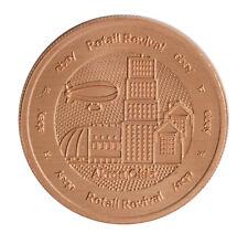 2018 1oz Copper Akron Round .999 - eBay Retail Revival Series