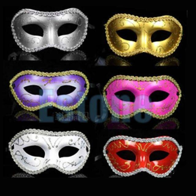 New Men/Women Costume Prom Mask Venetian Mardi Gras Party Dance Masquerade Ball