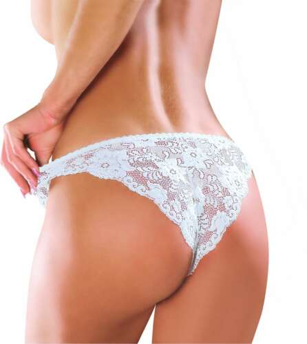 EWANA N60 Luxury Super Soft Decorative Lace Brief Available in 5 Colours