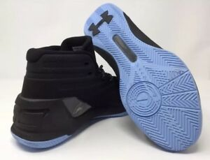 2ce73c09725 Under Armour Men s Basketball Shoes Steph Curry 3 Black Blue Hard to ...