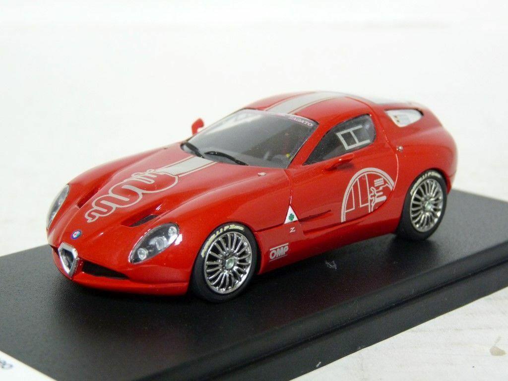 diseño simple y generoso Yow 066 066 066 1 43 2010 Alfa Romeo TZ3 Corsa Zagato concepto de resina coche modelo hecho a mano  moda