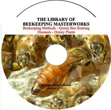 Beekeeping Master Works, Queen Bee Rearing Modern & Classic Methods,Bee Diseases